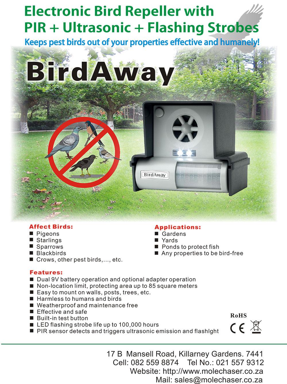 Electronic Bird Repeller